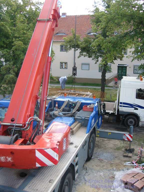 Garagendecke einfach bauen - Pool power shop forum ...