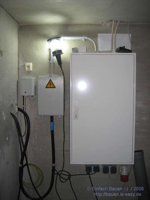 Stromkasten Und Aussen Einfach Bauen