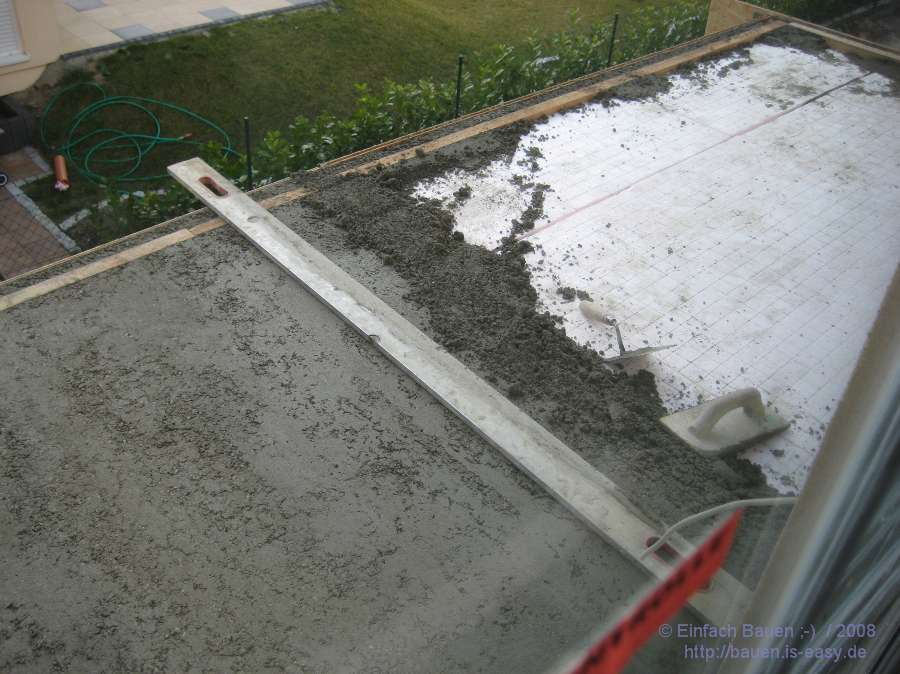 Balkon beton einfach bauen - Pool power shop forum ...