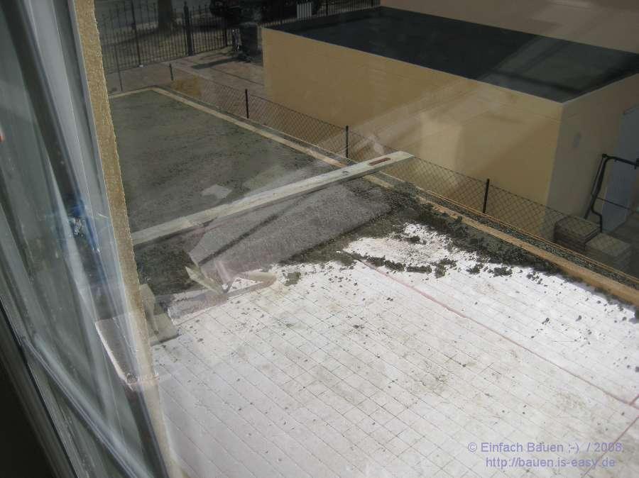 balkon beton einfach bauen. Black Bedroom Furniture Sets. Home Design Ideas