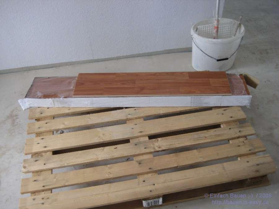 laminat ist da einfach bauen. Black Bedroom Furniture Sets. Home Design Ideas