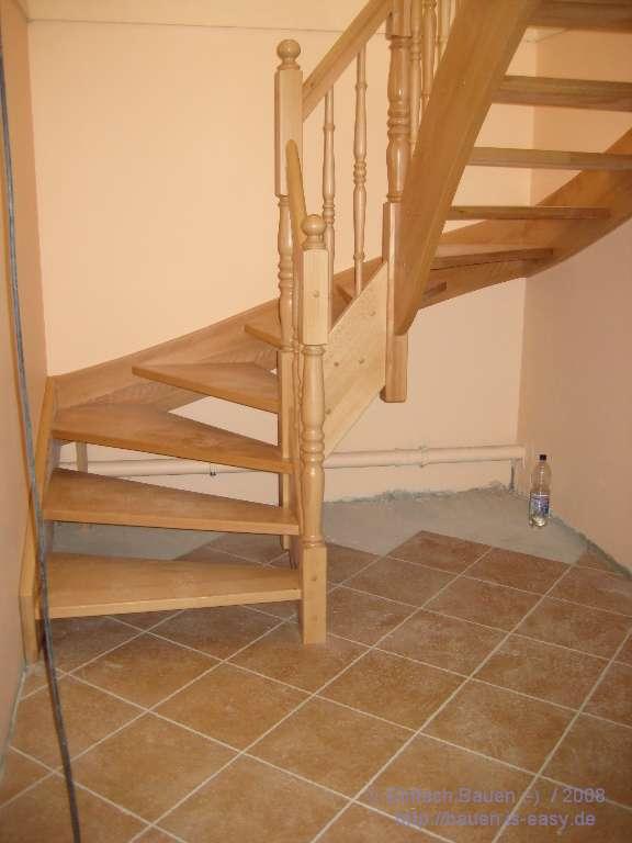 innentreppe erster teil einfach bauen. Black Bedroom Furniture Sets. Home Design Ideas