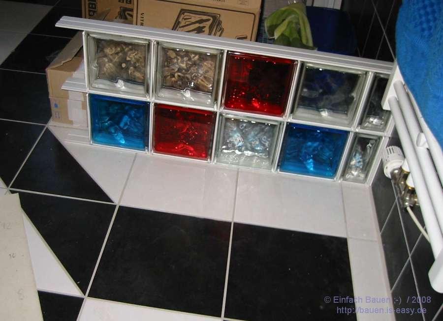 Dusche Selber Bauen Glasbausteine : Innengestaltung – Einfach Bauen ;-)